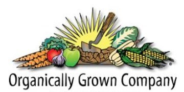 Organically Grown Company  Catalog
